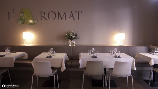 Salle du restaurant - L'Aromat, Marseille