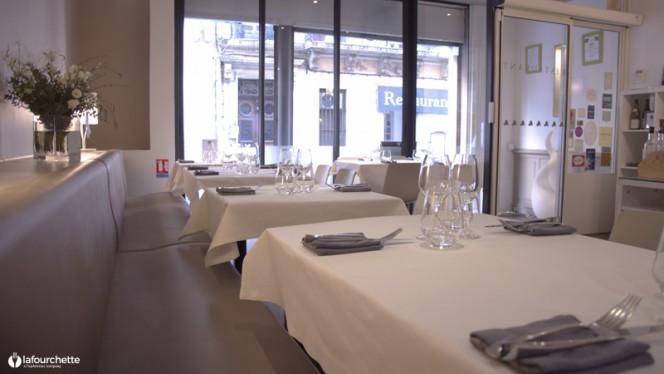 Tables dressées - L'Aromat, Marseille
