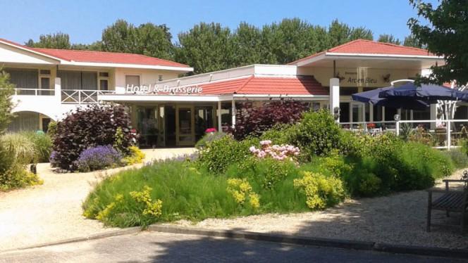 Ingang - Brasserie Arc en Bleu, Renesse