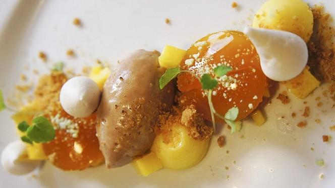 Ravioles de Mangue & Orange, crème citron et Chocolat - Flair...Gourmandise & Connivence, Lyon