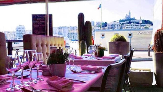 Terrasse - Carmine, Marseille