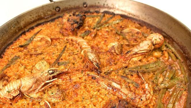 Detalle arroz - La Buganvilla Almagro, Madrid