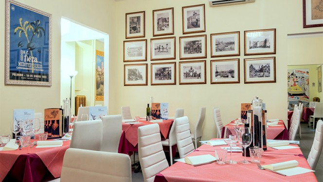 Vista della sala - Eat Sicily, Torino