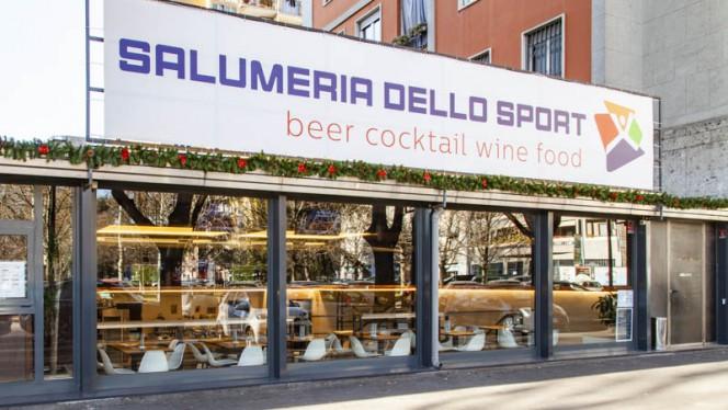 Entrata - Salumeria dello Sport, Milan