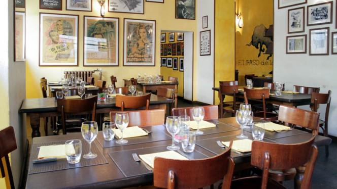 Sala del ristorante - El Paso De Los Toros, Milan