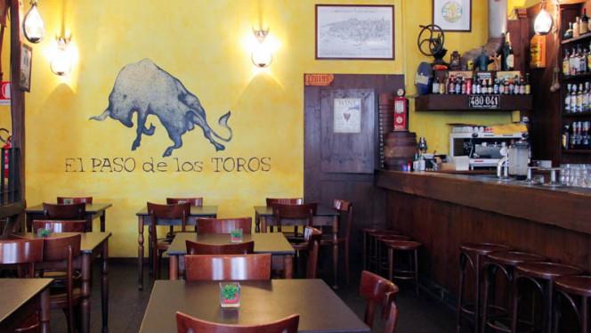 Veduta dell interno - El Paso De Los Toros, Milan