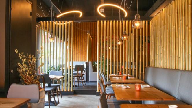 Het restaurant - Momiji Sushi, Den Haag