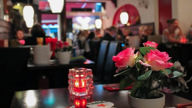 Het restaurant - Restaurant Villa Maria, Amsterdam