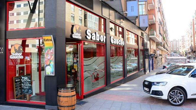 Fachada - Sabor Gaucho, Madrid