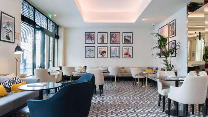 Vue de la salle - Vogue Café, Porto
