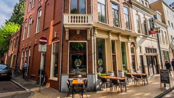 Voorkant - De Groene Stoel, Groningen