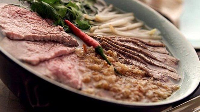 piatto misto di carne e verdure - Vietnamonamour - Via Taramelli, Milan