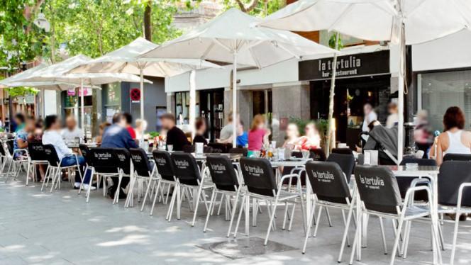 Vista terraza - La Tertulia, Barcelona