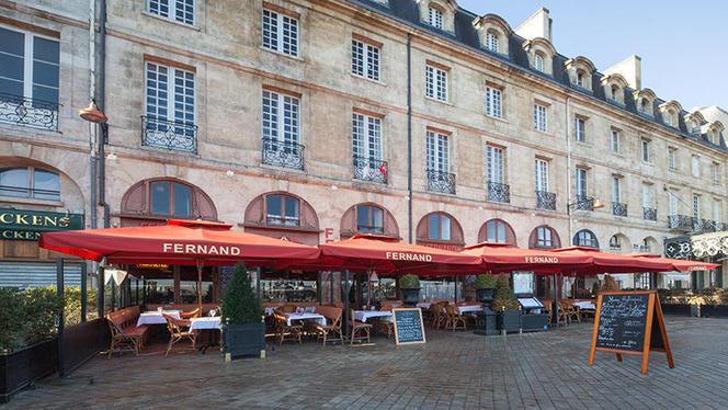 Devanture - Brasserie des Douanes, Bordeaux