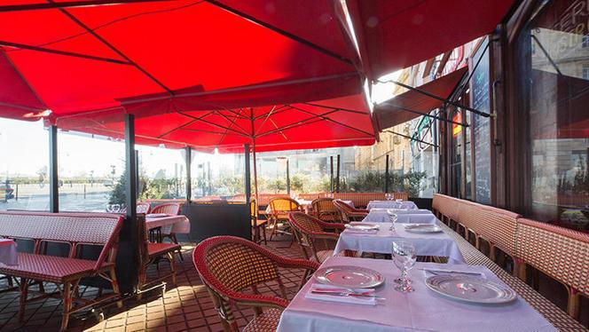 Terrasse - Brasserie des Douanes, Bordeaux