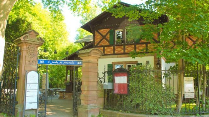 entrée - Le Jardin du Pourtalès, Strasbourg