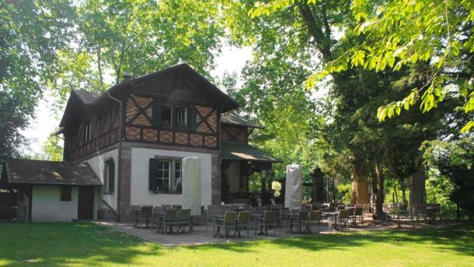 terrasse - Le Jardin du Pourtalès, Strasbourg