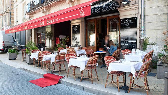 devanture - La Brasserie du Passage Saint-Michel, Bordeaux