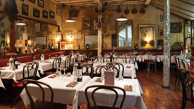 salle - La Brasserie du Passage Saint-Michel, Bordeaux