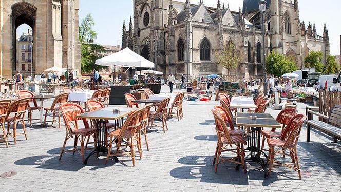terrasse - La Brasserie du Passage Saint-Michel, Bordeaux