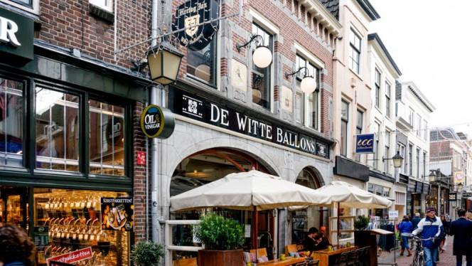 Ingang - De Witte Ballons, Utrecht