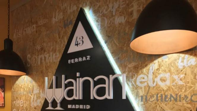 Detalle - Wainari - Ferraz, Madrid