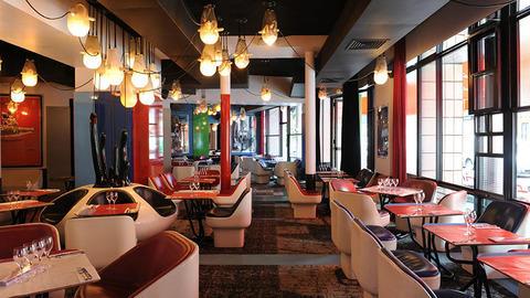 Cafe Etienne Marcel, Paris