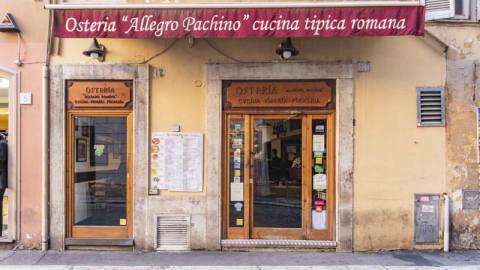 Osteria Allegro Pachino, Rome