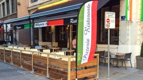 L'Allegria Tre, Lyon