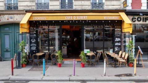 Café d'Albert Paris 11ème, Paris