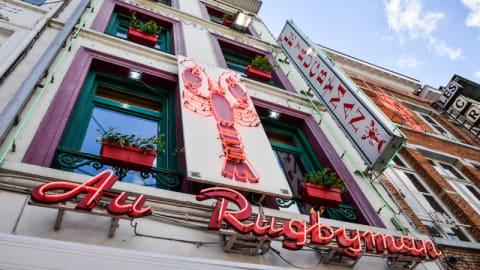 Rugbyman N°1, Brussels