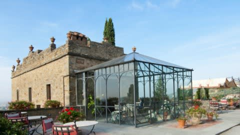 Il Falconiere, Cortona