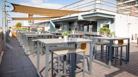 La terraza BCN Urban Club - Hotel Expo Barcelona, Barcelona