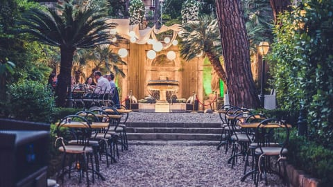 Gatsby Lounge Garden, Rome
