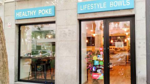 Healthy Poke Pardiñas, Madrid