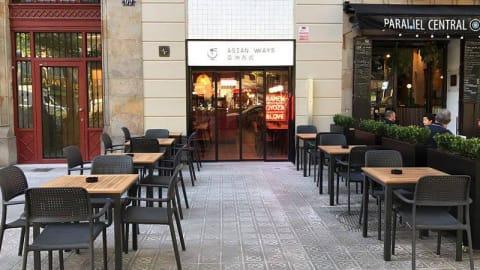 Asian Ways (paralelo), Barcelona