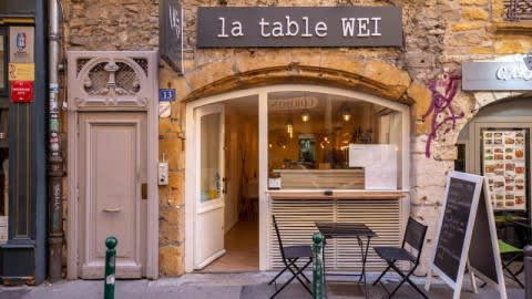 La Table Wei, Lyon