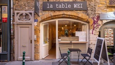 La Table Wei, Lyon