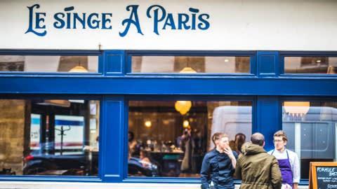 Le Singe A Paris, Paris