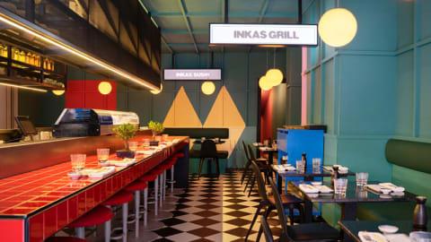 Páru Inkas Sushi & Grill, Madrid
