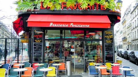 La Favorite, Paris