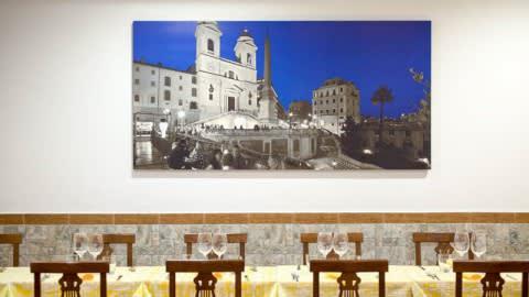 La piazzetta del gusto, Rome