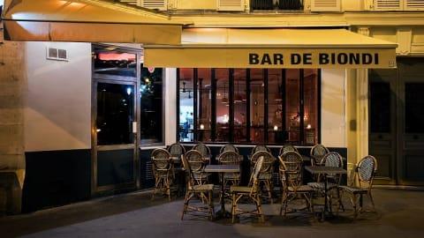 Bar de Biondi, Paris