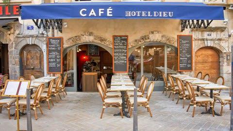 Café Hotel Dieu, Lyon