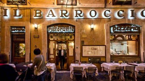 Il Barroccio, Rome