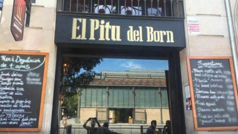 El Pitu del Born, Barcelona