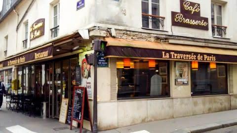 La traversée de Paris, Paris