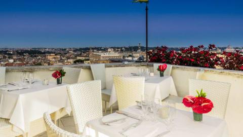 Roof Garden - Hotel Mediterraneo, Rome