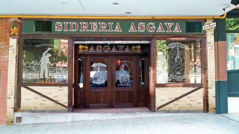 Sidreria Asgaya - Calle de Toledo, Madrid