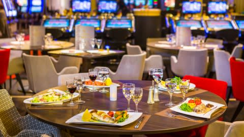 Golden Restaurant - Casino Barrière Ruhl Nice, Nice